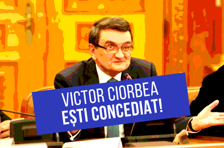 Victor Ciorbea, ești concediat! - foto: de-clic.ro