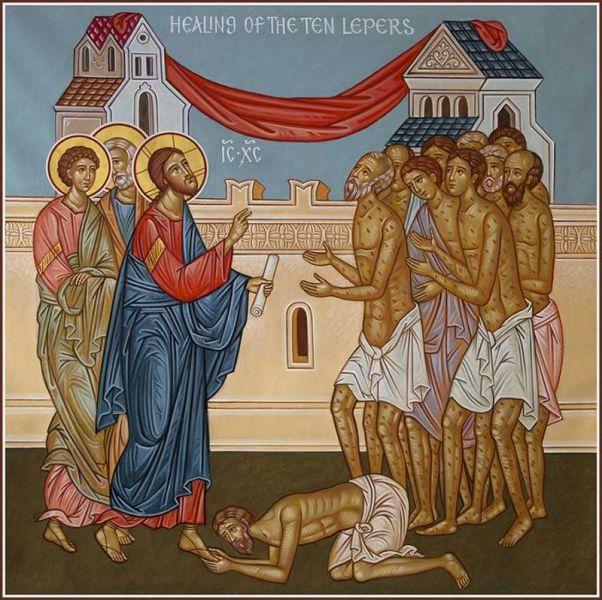 Vindecarea celor 10 leproși - foto: cuvantul-ortodox.ro