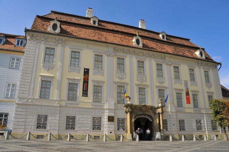 Muzeul Național Brukenthal este un grup de muzee din Sibiu - foto preluat de pe ro.wikipedia.org