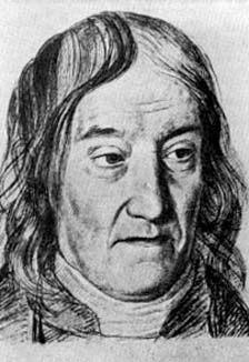 Farkas Bolyai (n. 9 februarie 1775, Buia, Sibiu - d. 20 noiembrie 1856, Târgu Mureș), cunoscut în Germania ca Wolfgang Bolyai, a fost un matematician maghiar din Transilvania, cunoscut mai ales pentru contribuțiile sale în domeniul geometriei - foto preluat de pe ro.wikipedia.org