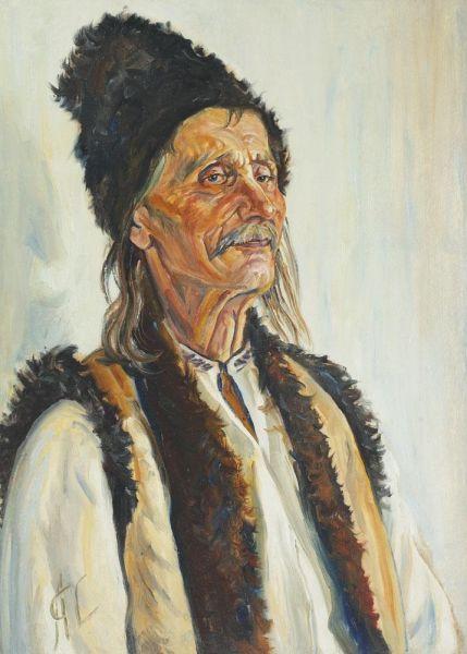 """Portret de bucovinean -  Ion Axentoi"" - foto preluat de pe artindex.ro"