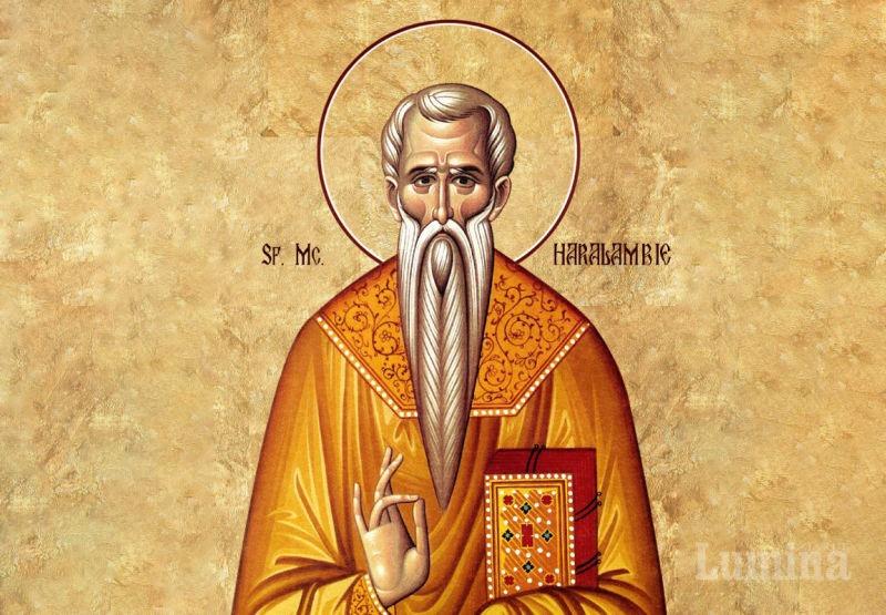 Sf. Sfințit Mc. Haralambie (†202) - foto preluat de pe ziarullumina.ro