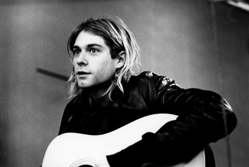 Kurt Donald Cobain (n. 20 februarie 1967 - d. 5 aprilie 1994) a fost un cântăreț, chitarist și compozitor în formația de muzică rock Nirvana, originară din Seattle - foto preluat de pe www.facebook.com