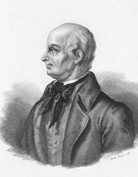 """Lazzaro Spallanzani (*12 ianuarie 1729, Scandiano/Reggio nell'Emilia - †12 februarie 1799, Pavia) a fost un om de știință italian, unul din întemeietorii Biologiei experimentale. A demonstrat falsitatea teoriei """"generației spontane"""" - foto preluat de pe ro.wikipedia.org"""