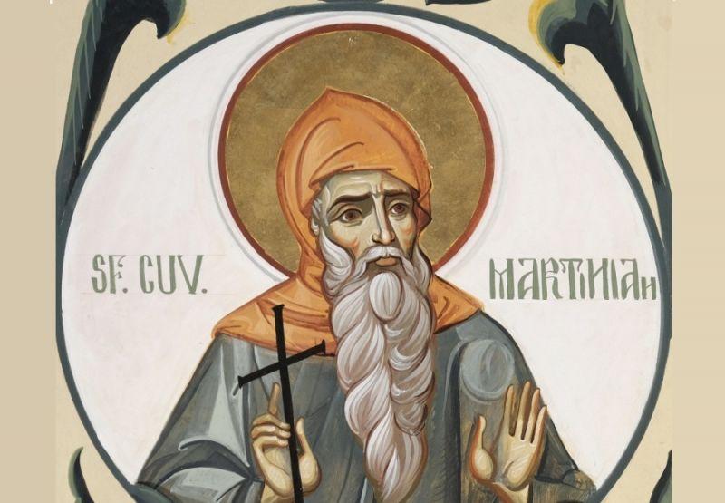 Sf. Cuv. Martinian din Cezareea Palestinei (sec. IV - V) - foto preluat de pe ziarullumina.ro