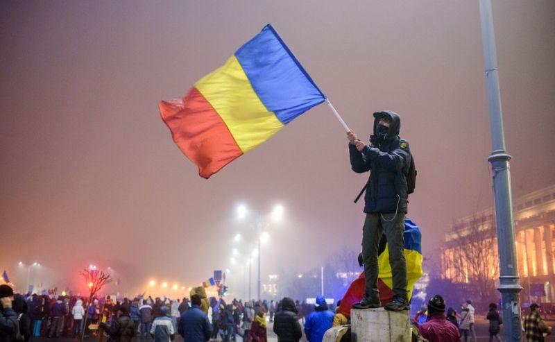 Protest la Guvern [ziua a 7-a - 6 februarie 2017] - foto: Mihuţ Savu / Epoch Times România
