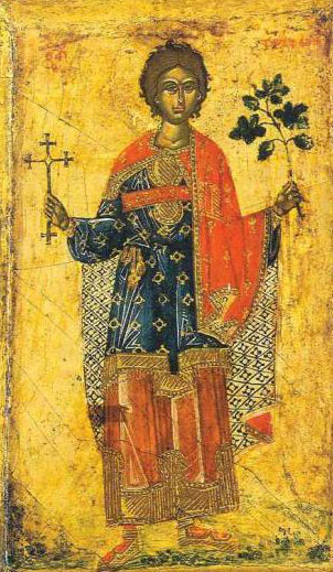 Sf. Mc. Trifon (232 - 250) - foto preluat de pe ro.orthodoxwiki.org