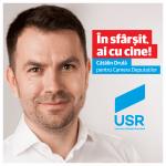 Cătălin Drulă - Deputat de Timiș din partea Uniunii Salvați România - foto; facebook.com