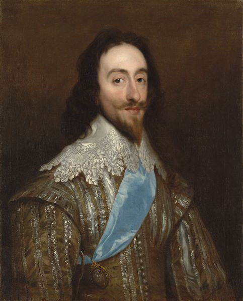 Carol I al Angliei (engleză Charles I of England) (n. 19 noiembrie 1600 – d. 30 ianuarie 1649) a fost rege al Angliei, Scoţiei şi Irlandei din 27 martie 1625 până la execuţia sa din ianuarie 1649 - in imagine, Carol I al Angliei (Daniel Mytens) - foto preluat de pe ro.wikipedia.org