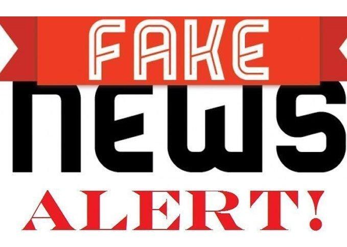 Fake News - foto: twitter.com