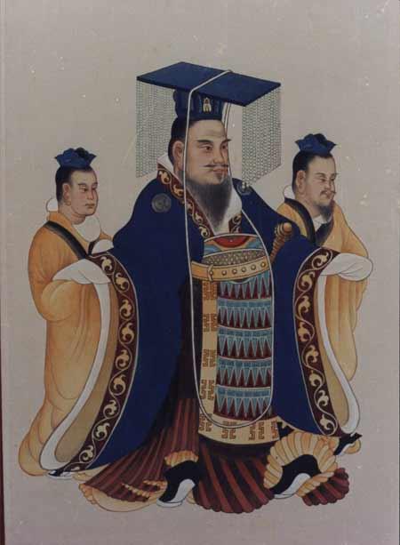 Împăratul Wu din dinastia Han (156 î.Hr.–29 martie 87 î.Hr.), a fost unul din cei mai importanţi împăraţi ai Chinei şi al şaptelea din dinastia Han - foto preluat de pe ro.wikipedia.org