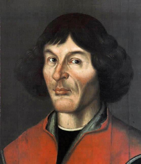 Nicolaus Copernic (n. 19 februarie 1473, în oraşul liber hanseatic Toruń, aflat azi în Polonia - d. 24 mai 1543, Frauenburg, astăzi Frombork, Polonia), astronom şi cosmolog, matematician şi economist, preot şi prelat catolic, a dezvoltat teoria heliocentrică a Sistemului Solar - foto preluat de pe ro.wikipedia.org