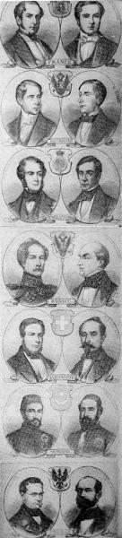 Participanţii tratatului de la Paris (1856) - foto: ro.wikipedia.org