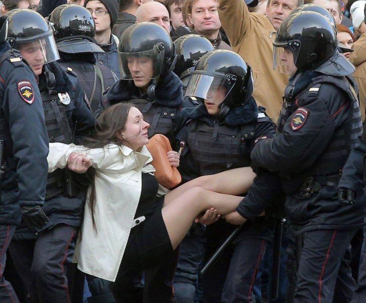 Protest Rusia (26 martie 2017) - foto: © Maksim Shipenkov