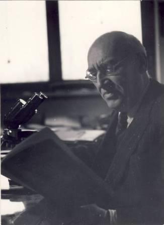 Traian Săvulescu (n. 2 februarie 1889, Râmnicu Sărat - d. 29 martie 1963, Bucureşti) a fost un biolog şi botanist român, fondator al Şcolii româneşti de fitopatologie, primul care a făcut cunoscută în România flora Arabiei şi Palestinei, membru şi preşedinte al Academiei Române - foto preluat de pe ro.wikipedia.org