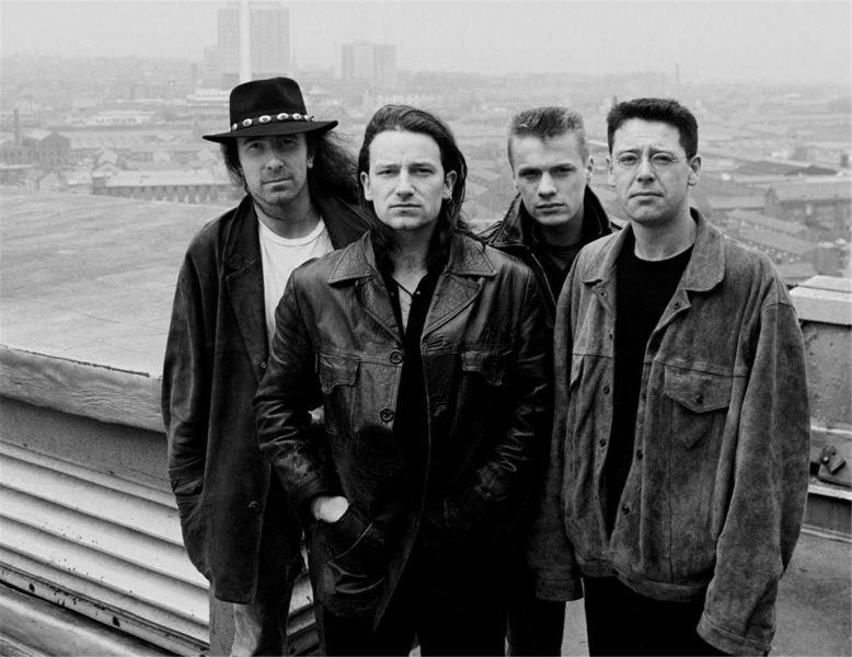 U2, BBC, London, England, 1987 by Colm Henry - foto: morrisonhotelgallery.com