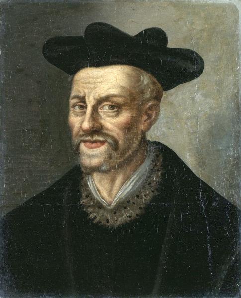François Rabelais (n. circa 1494 - d. 9 aprilie 1553) a fost un scriitor şi medic francez - foto preluat de pe ro.wikipedia.org
