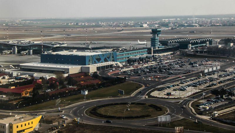 Aeroportul Internațional Henri Coandă București (martie 2013) - foto preluat de pe ro.wikipedia.org
