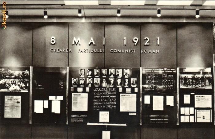 Actul fondator al PCR, din 8 mai 1921 - foto preluat de pe radioiasi.ro