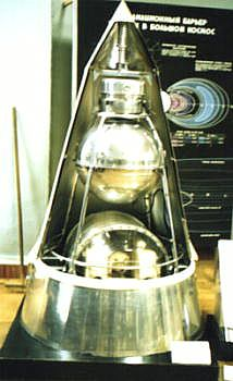 "Machetă ""Sputnik 2"" - foto: ro.wikipedia.org"