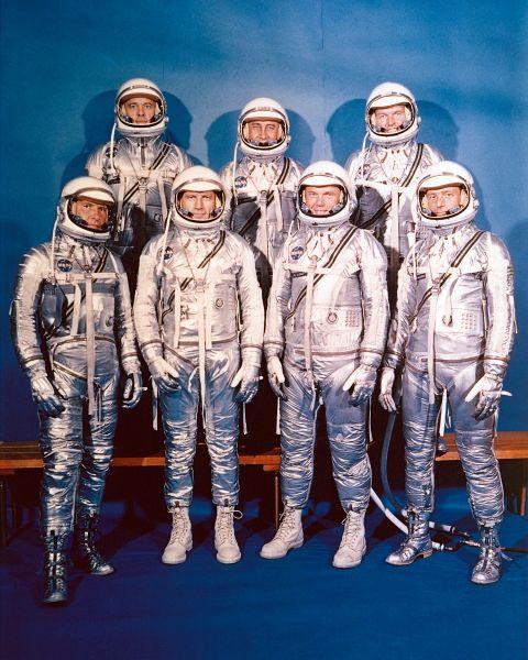 Project Mercury Astronauts - foto: ro.wikipedia.org