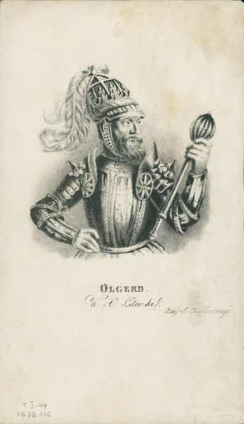 Algirdas (n. cca. 1296 - d. 24 mai 1374) a fost un Mare Duce al Lituaniei în perioada dintre 1345 - 1377 - foto preluat de pe ro.wikipedia.org