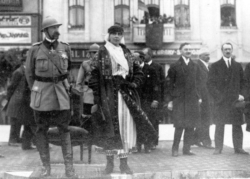 21 mai 1918 – Regele Ferdinand la Chișinău - foto preluat de pe 10tv.md