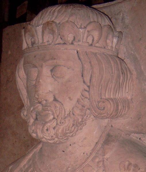 Filip I (franceză Philippe I; 23 mai 1052 — 29 iulie 1108) a fost rege al francilor din 1060 până la moartea sa - Philip's tomb effigy in Fleury Abbey - foto preluat de pe en.wikipedia.org