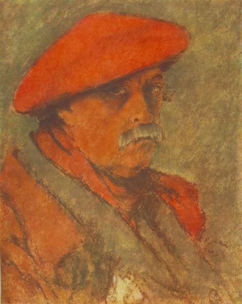 József Rippl-Rónai (n. 23 mai 1861,Kaposvár, Ungaria – d. 25 noiembrie 1927, Kaposvár, Ungaria)) a fost un pictor maghiar, unul din cei mai originali artişti ai Belle Époque - Self portrait (1924), Hungarian National Gallery, Budapest - foto preluat de pe ro.wikipedia.org