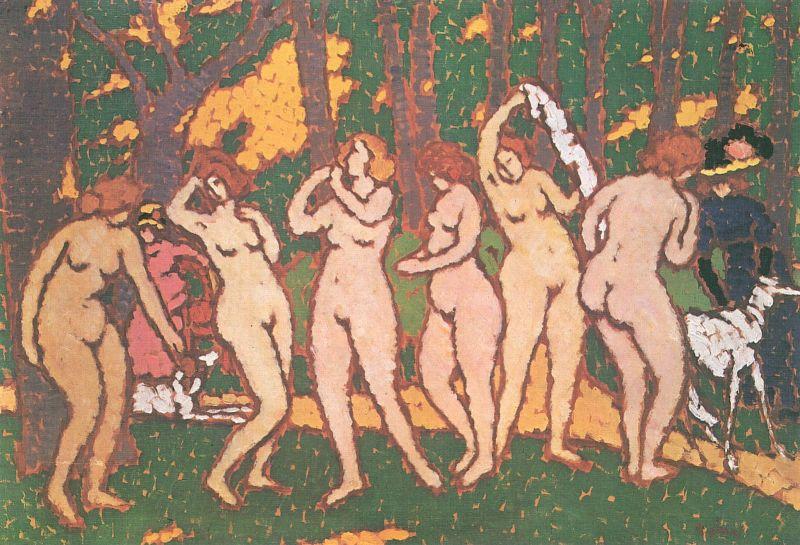 """""""Parc cu nuduri"""", József Rippl-Rónai (1911-1912) - foto preluat de pe ro.wikipedia.org"""