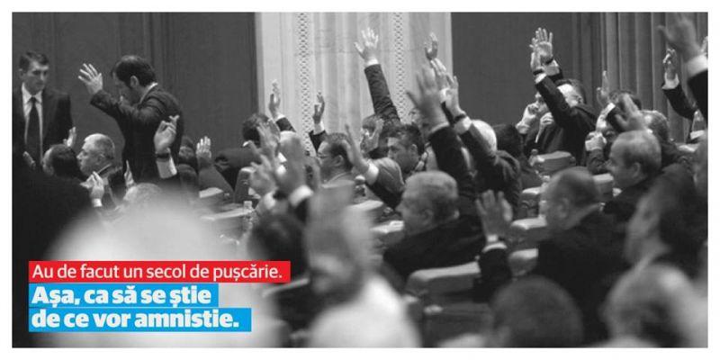 #StopAmnistie #VinoLaVOT #Opreste-i PSD pregătește o amnistie penală și fiscală! Politicieni PSD și PNL însumează 113 ani de pușcărie și un prejudiciu mai mare de 1 MILIARD de lei! - foto: facebook.com