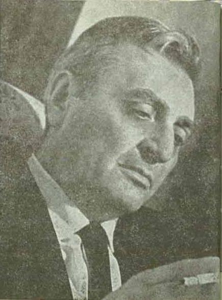Ioan Aurel Baranga (născut Aurel Leibovici, n. 20 iunie 1913, Bucureşti - d. 10 iunie 1979, Bucureşti) a fost un poet şi dramaturg român de origine evreiască - foto preluat de pe ro.wikipedia.org