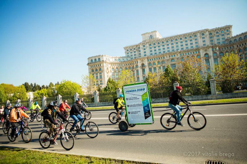 Marsul biciclistilor - Bucuresti - 22 aprilie 2017 - foto: Vitalie Brega