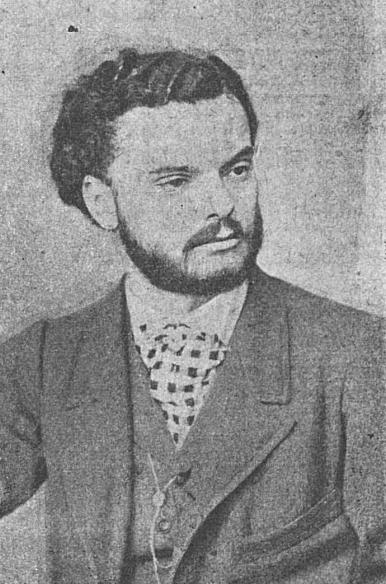 Eduard Caudella (n. 22 mai sau 3 iunie 1841, Iași, Principatul Moldovei — d. 15 aprilie 1924, Iași, România) a fost un compozitor român de muzică de operă, violonist, dirijor, profesor și critic de muzică - în imagine, Eduard Caudella la 30 de ani - foto - ro.wikipedia.org