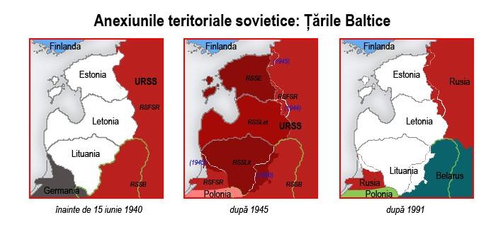 17 iunie 1940: Cele trei state baltice, Estonia, Letonia şi Lituania intră sub ocupaţia Uniunii Sovietice - foto: cersipamantromanesc.wordpress.com