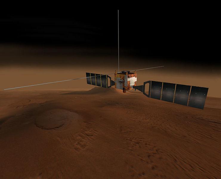 Mars Express, prima sondă europeană spre Marte - foto preluat de pe ro.wikipedia.org