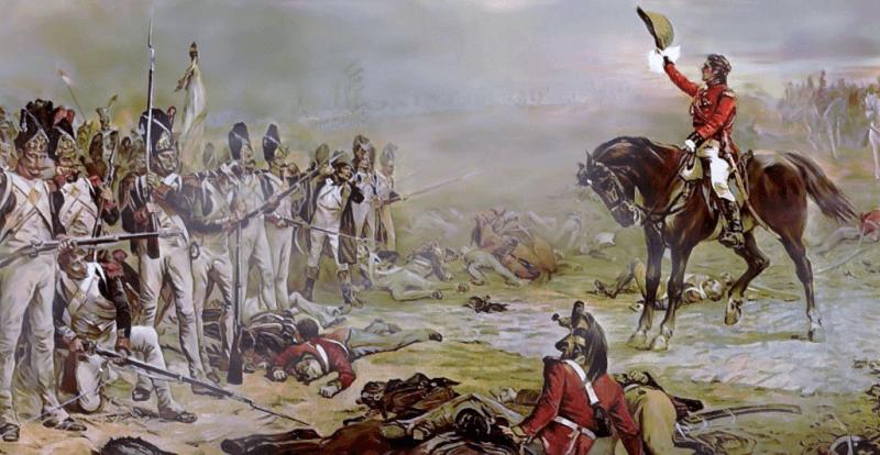 Generalul Hill şi ultimul careu din Gardă - foto: ro.wikipedia.org