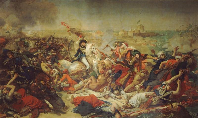 Bătălia de la Abukir (1799) Parte din campania franceză din Egipt - foto preluat de pe en.wikipedia.org