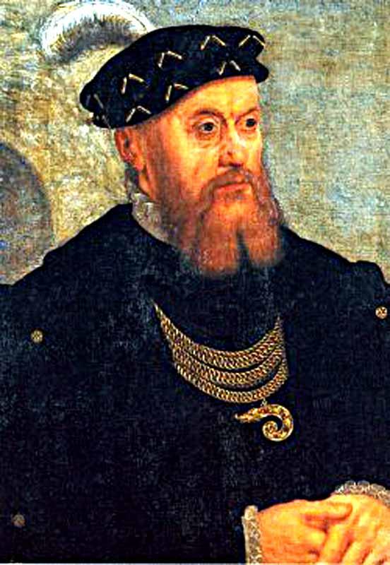 Christian al III-lea (n. 12 august 1503, Schleswig – d. 1 ianuarie 1559, Kolding) a fost rege al Danemarcei şi rege al Norvegiei, fiul cel mare al regelui Frederick I al Danemarcei şi a reginei Anna de Brandenburg - foto preluat de pe ro.wikipedia.org