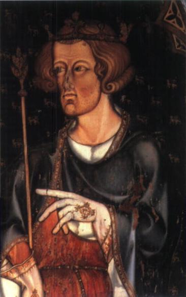 """Eduard I al Angliei (17 iunie 1239 - 7 iulie 1307) a domnit între anii 1272 şi 1307, suindu-se pe tronul Angliei pe 21 noiembrie 1272 după moartea tatălui său, regele Henric al III-lea. Supranumit """"Picioare lungi"""", datorită staturii sale neobişnuit de înalte, Eduard I a fost cel mai ilustru monarh englez din Evul Mediu - Portret aflat la Westminster Abbey - foto preluat de pe ro.wikipedia.org"""