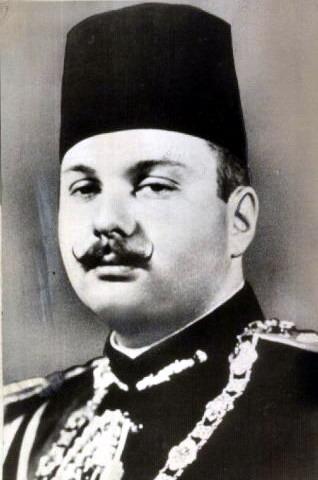 Regele Farouk I al Egiptului (n. 11 februarie 1920 – d. 18 martie 1965), a fost al zecelea conducător al dinastiei Muhammad Ali şi penultimul rege al Egiptului şi al Sudanului - foto preluat de pe ro.wikipedia.org