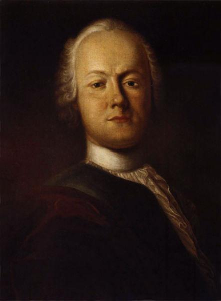 Friedrich Gottlieb Klopstock (n. la 2 iulie 1724, la Quedlinburg - d. la 14 martie 1803, la Hamburg) a fost un poet german - Portret de Johann Caspar Füssli (1750) - foto preluat de pe ro.wikipedia.org