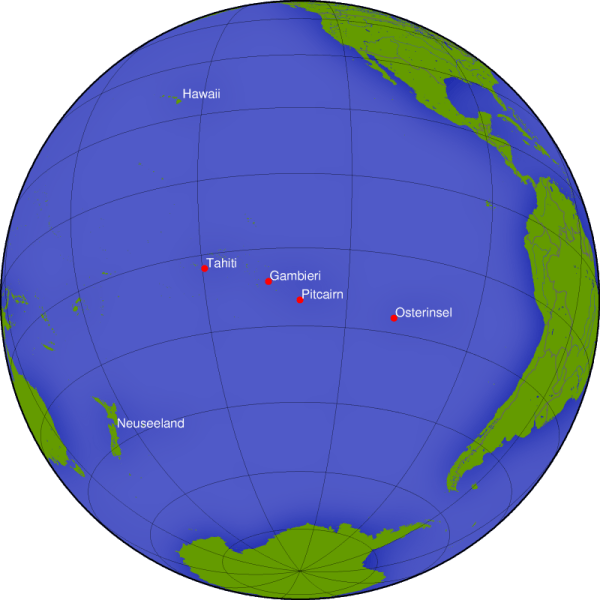 Insulele Pitcairn - foto preluat de pe ro.wikipedia.org