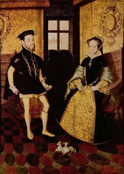 Maria și soțul ei, Philip - foto preluat de pe en.wikipedia.org