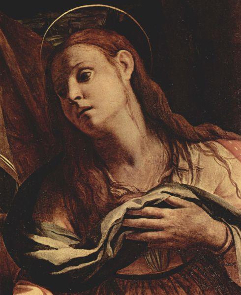 Maria Magdalena (literal Maria din Magdala) a fost o femeie discipol a lui Iisus Hristos, venerată ca sfântă în creştinism - foto preluat de pe ro.wikipedia.org