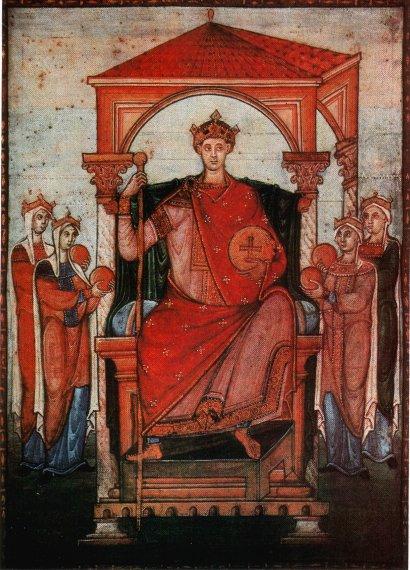 Otto al II-lea al Sfântului Imperiu Roman. Otto al II-lea (955 – 7 decembrie 983, Roma), numit cel Roșu, a fost cel de-al treilea conducător al dinastiei saxone sau Ottoniene, fiul lui Otto cel Mare și al Adelaidei - foto preluat de pe ro.wikipedia.org