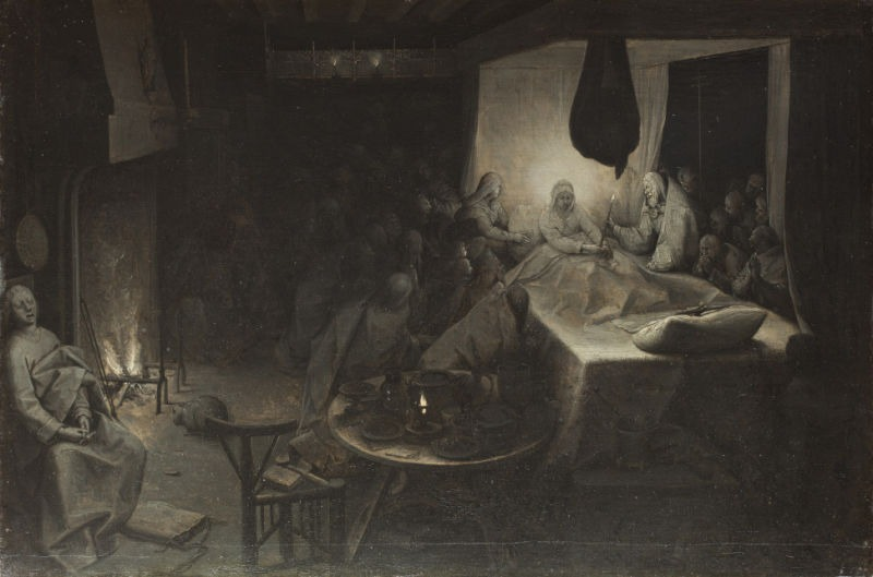 Adormirea Maicii Domnului, lucrare de Bruegel (1564) - foto preluat de pe ro.wikipedia.org