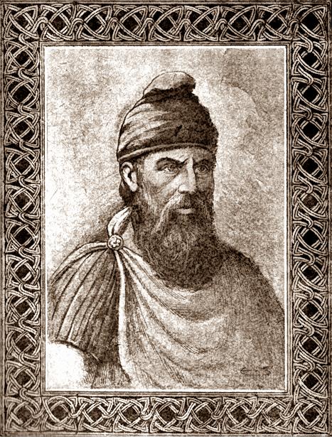 Decebal a fost regele Daciei între anii 85-106 - Portretul lui Decebal în Cartea omului matur a Institutului de Arte Grafice Carol Göbl - foto preluat de pe ro.wikipedia.org