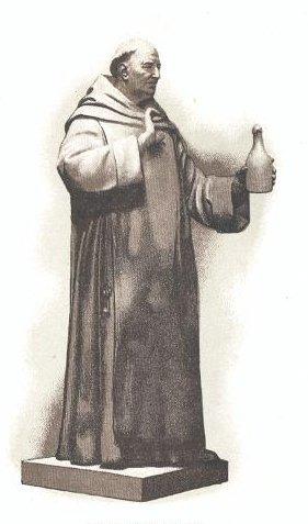 Dom Pierre Pérignon, a Benedictine monk - foto preluat de pe en.wikipedia.org