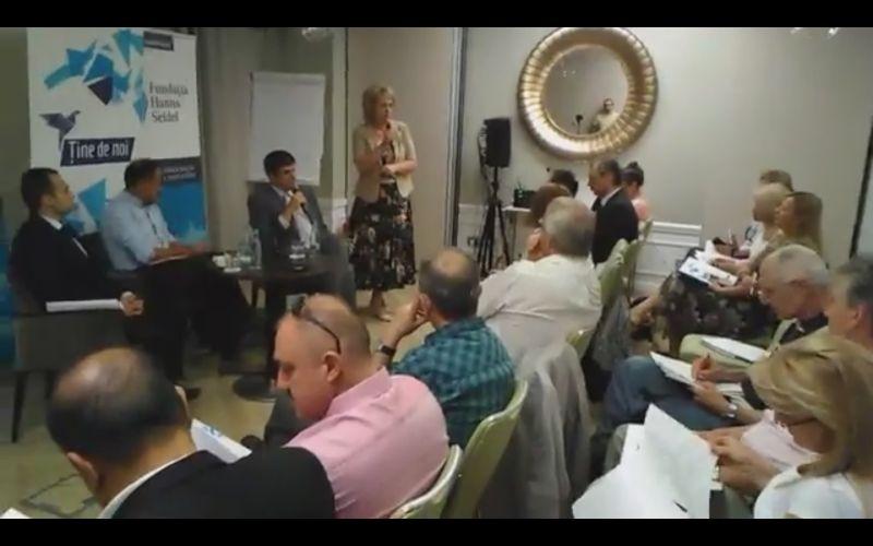 """""""Conturarea unei rețele permanente de ONG-uri"""" - foto: captura facebook.com"""